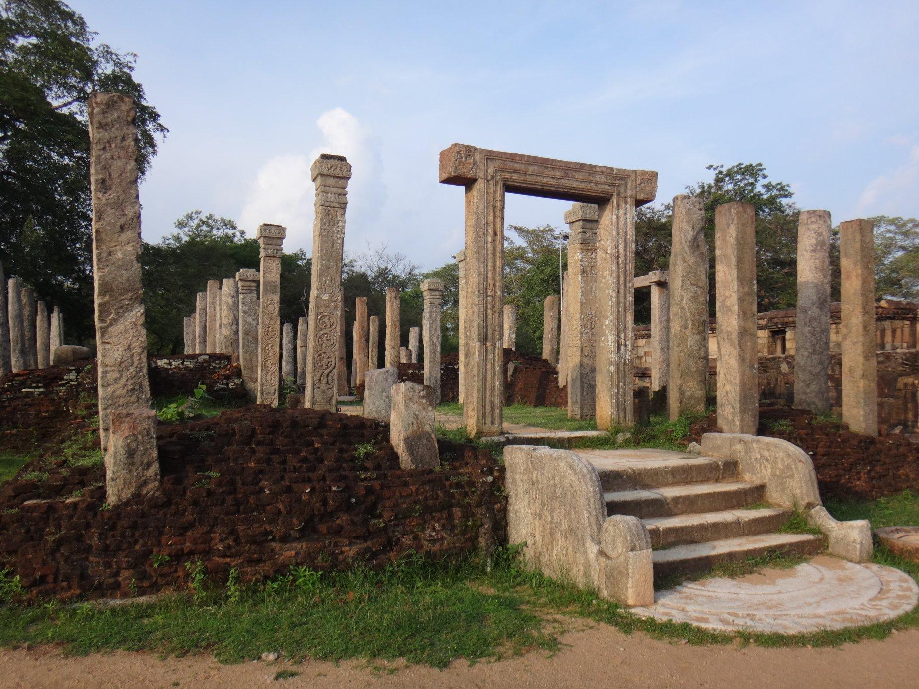 Ruins at Polonuwarra