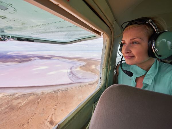 Kati Thanda-Lake Eyre National Park, Scenic Flight | Photographer Adam Bruzzone