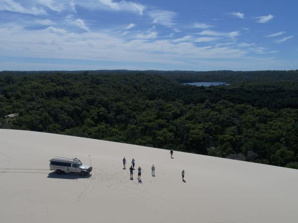 Touring the Yeagarup Dunes