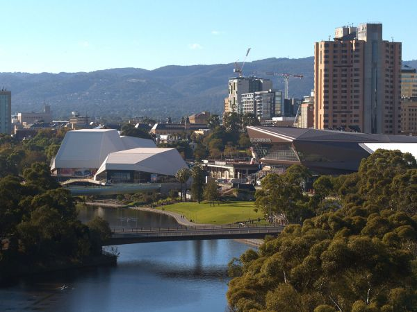 Adelaide Centre - Image courtesy of South Australian Tourism Commission
