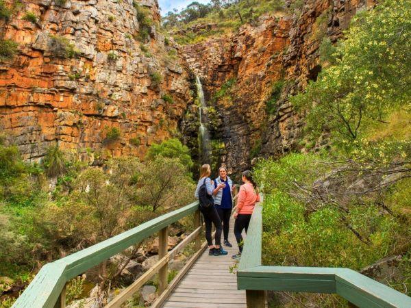 Morialta Conservation Park - Image courtesy of  South Australian Tourism Commission