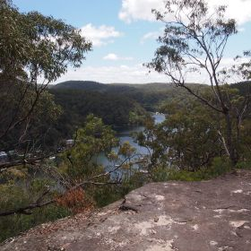 Views of Berowra Waters while on the trail - Photo by Maurice van Creij