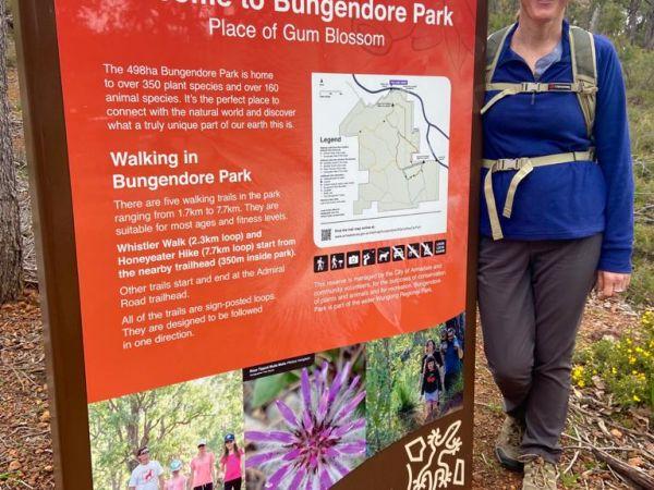 Trailhead Bungendore Park