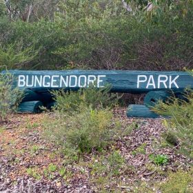 Backyard Blitz -  Bungendore Park Alphabet Walk August 2020
