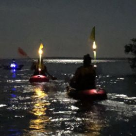Moreton Bay Full Moon Kayak October 2020
