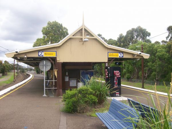 Mt Kuring-Gai Railway Station: Photo Cred Abstey