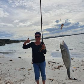 Beach Fishing - Private Group Lesson October 2020