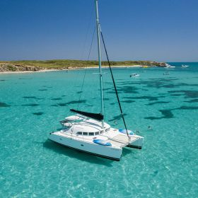 Our Gorgeous Catamaran