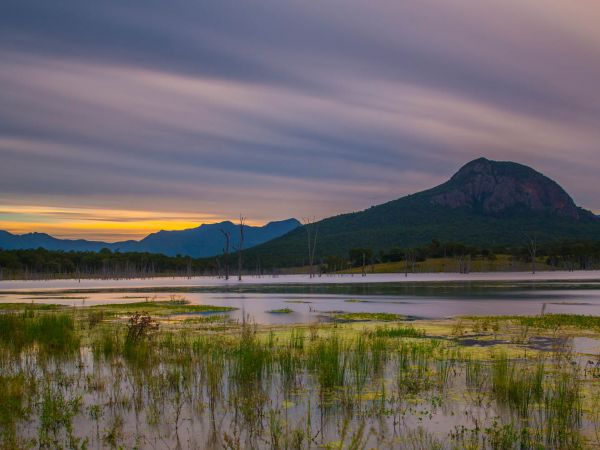 Lake Moogerah  - Image courtesy of Tourism and Events Queensland