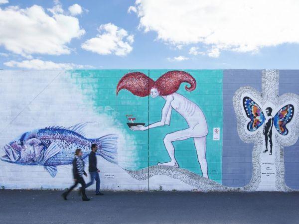 Street art - image courtesy of https://visitbunburygeographe.com.au