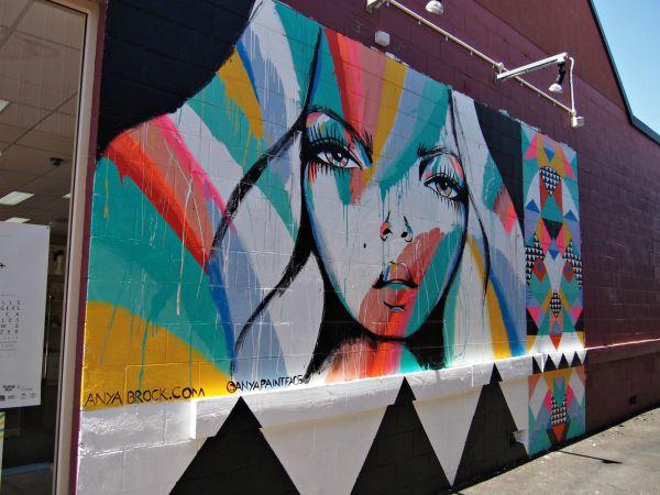 Anya Brock Mural