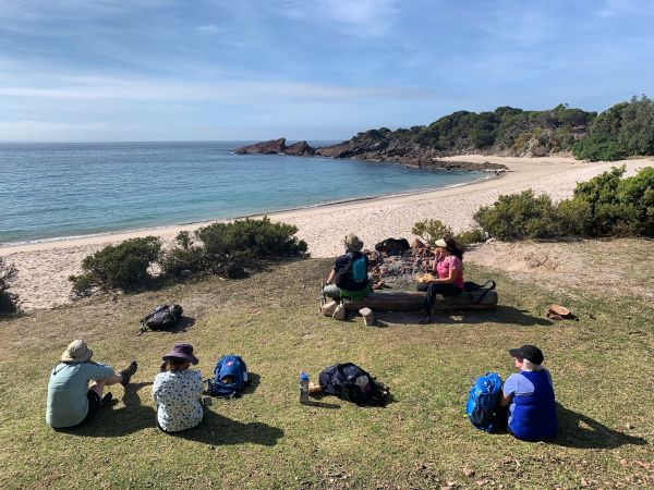 Lunch at Mowarry Point