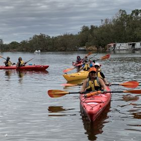 Beyond The Next Bend - Swan River Paddle