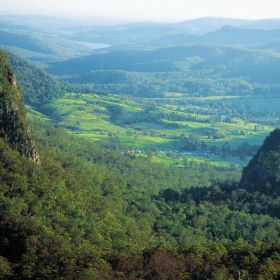 Numinbah Valley - Image courtesy of Tourism and Events Queensland