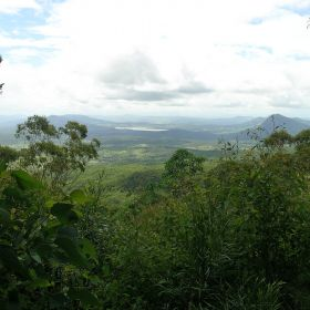 Views toward Fassifern Valley