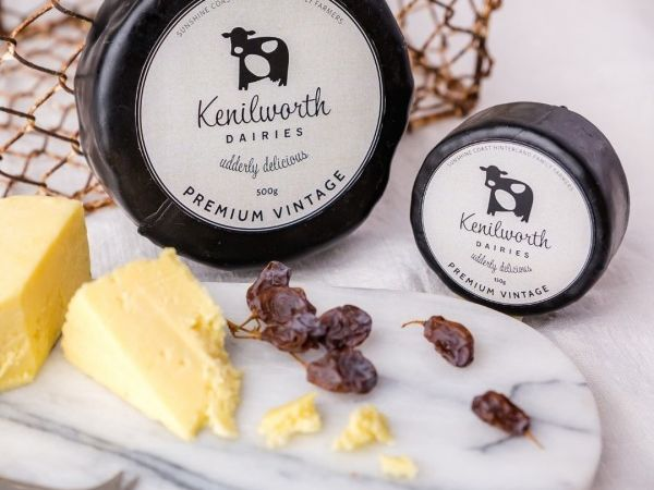 Cheeses.. Image courtesy of Kenilworth Dairies