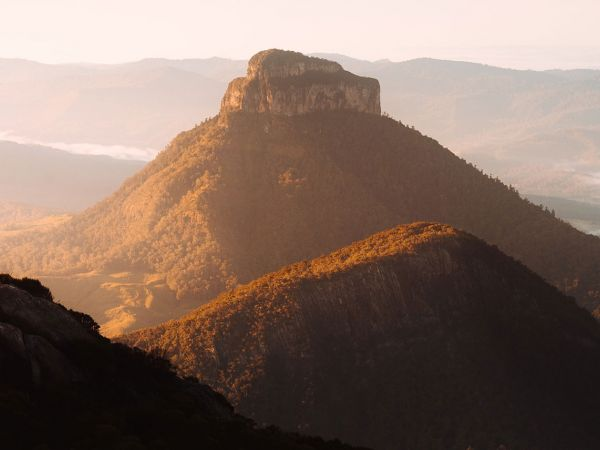 Mt Barney Summit Image courtesy of Tourism and Events Queensland