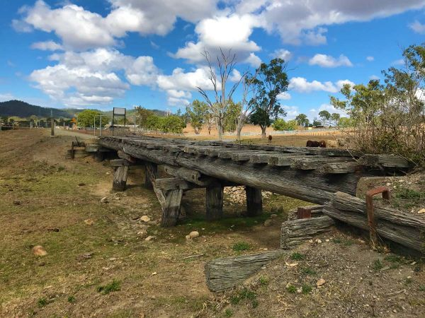 Old Bridge on the BVRT -  Image courtesy Queensland Government