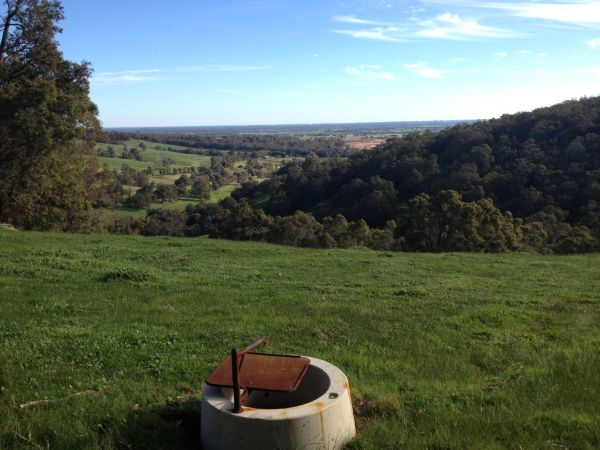 Beautiful views over the valley