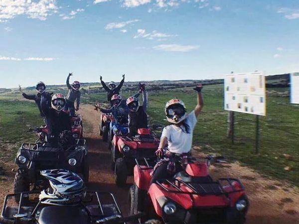 Quad Fun - Image courtesy of Waitpinga Quad Bikes