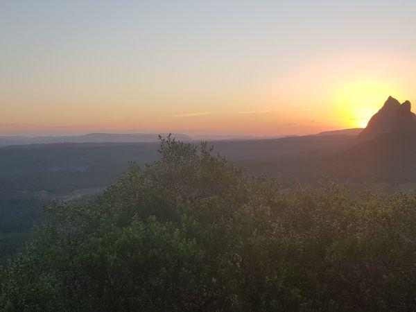 Mt Ngungun Sunset