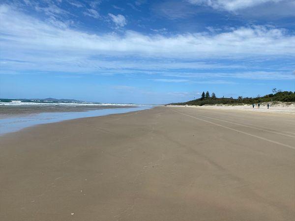Beach near Teewah
