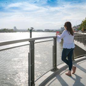 New Farm Park to Portside Return River Walk