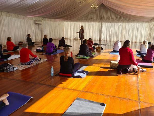 Yoga - Image courtesy Yoga Under The Bodhi Tree