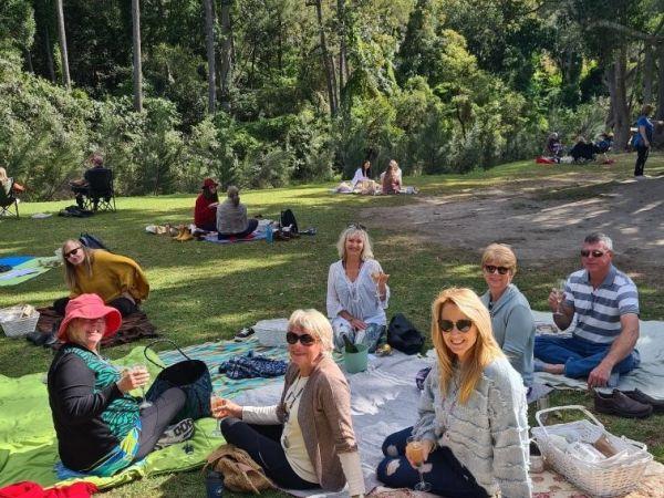 Picnic brunch - Image courtesy Yoga Under The Bodhi Tree