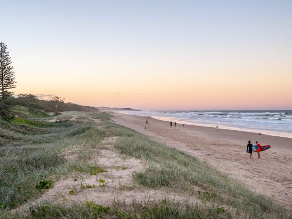Peregian Beach - Image courtesy of Tourism and Events Queensland