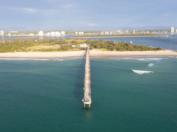 Spit Pier - Image courtesy Tourism and Events Queensland