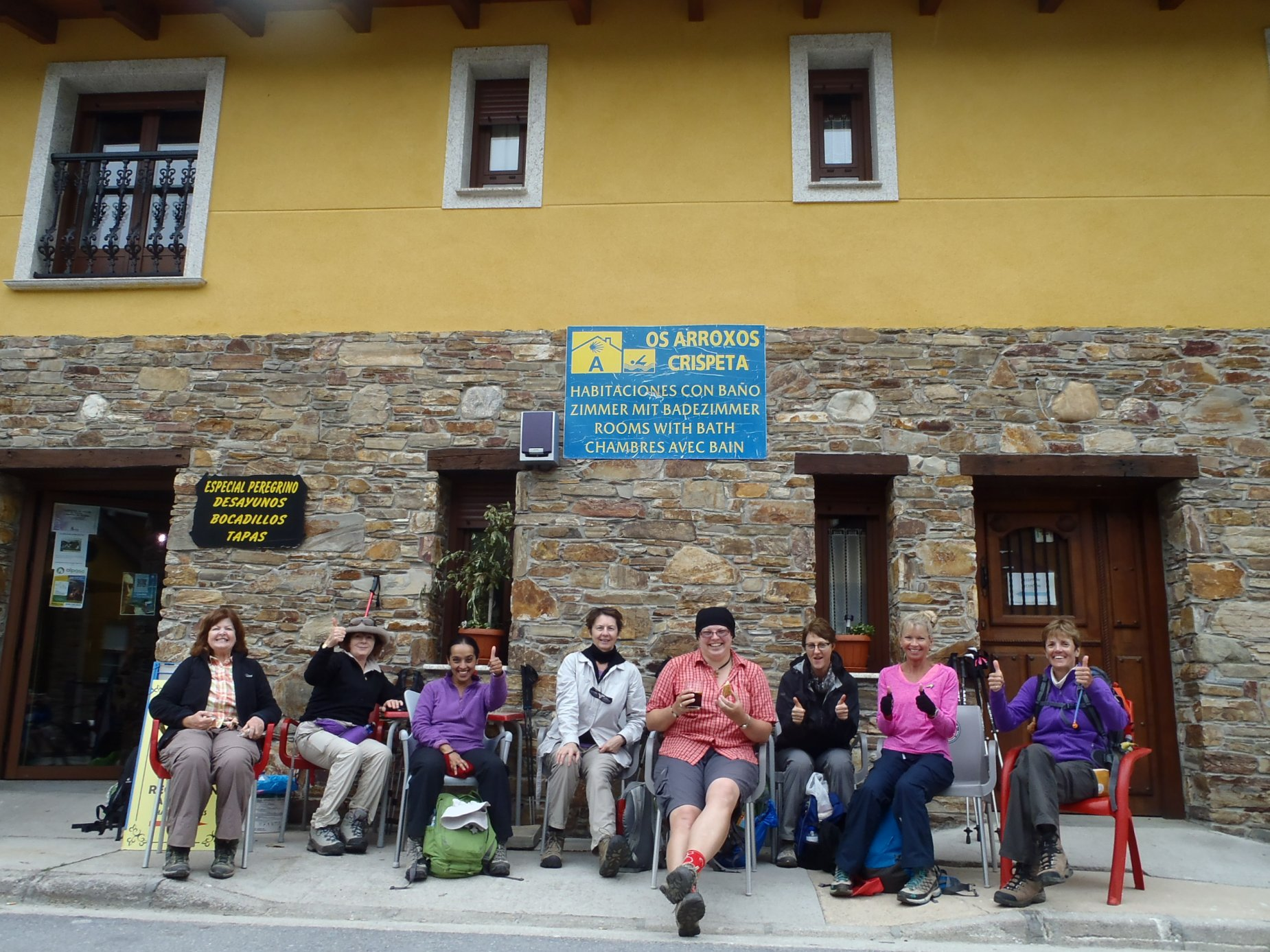 walking the camino portugal & spain info night peregrine travel