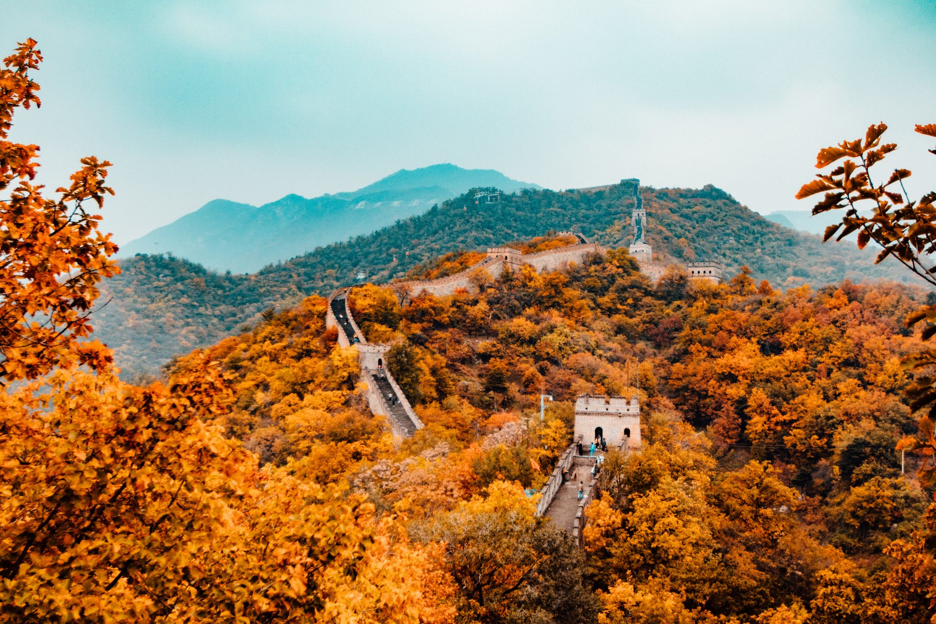Autumn Colours - Great Wall